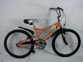 Bicicleta Musetta R24 Yguana Naranja