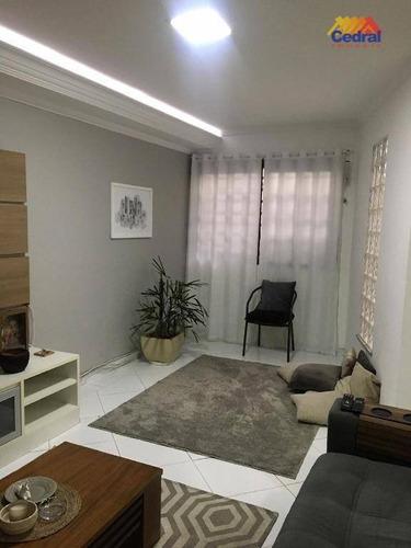 Sobrado Com 3 Dormitórios À Venda, 200 M² Por R$ 565.000,00 - Vila Oliveira - Mogi Das Cruzes/sp - So0415