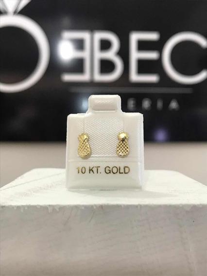 Piñas Piercing Oro 10k