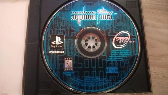 Syphon Filter Playstation 1 Prensado