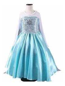 Vestido Rainha Elsa Frozen - A Pronta Entrega