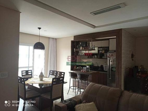Apartamento Com 3 Dormitórios À Venda, 77 M² Por R$ 375.000 - Vila Antônio Augusto Luiz - Caçapava/sp - Ap4393
