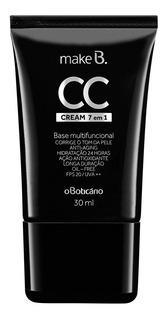 Make B. Cc Cream Base Líquida 7 En 1 Beige Claro 02, 30 Ml M