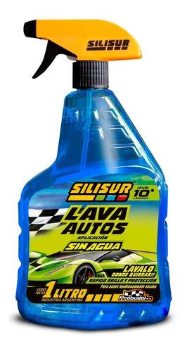 Lava Auto Sin Agua Con Gatillo Silisur 1lt