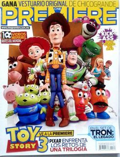Cine Premiere Toy Story Pixar Kick Ass Villa Sex City Tron