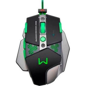 Mouse Gamer Óptico 4000dpi Pc 8 Botões Warrior Promoção