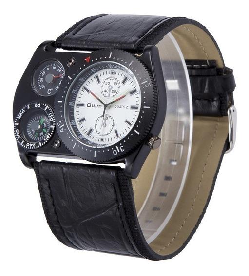 Oulm Esporte Relógio De Pulso Masculino Relógio De Quartzo