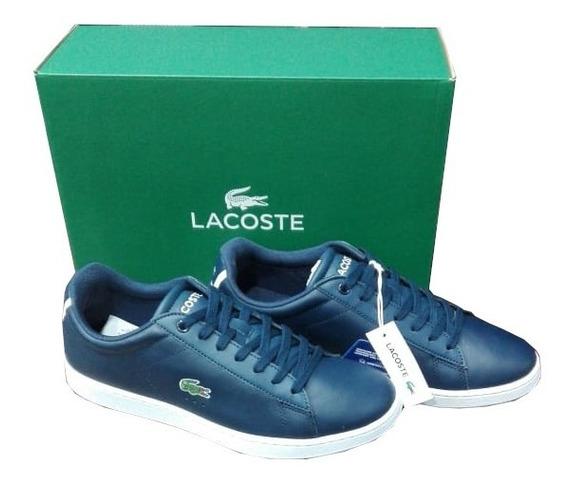 Zapatilla Carnaby Evo Bl1 Lacoste (7358) Azul
