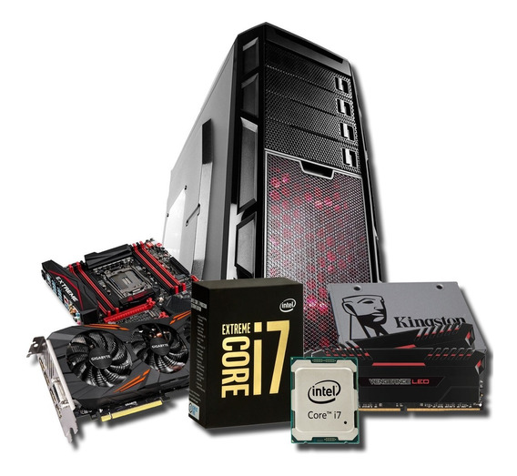 Computador Gamer I7 6950x 16gb Gtx 1080 Ssd * À Vista 12.000
