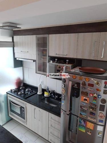 Apartamento Com 2 Dormitórios À Venda, 47 M² Por R$ 230.000 - Conjunto Residencial Trinta E Um De Março - São José Dos Campos/sp - Ap2429