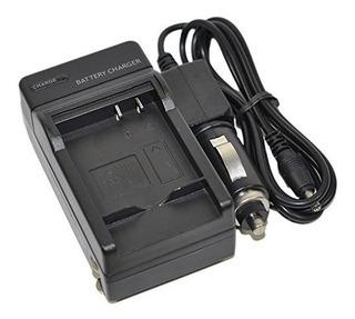 Ac / Dc Unico Cargador De Bateria Nb-3l Para Canon Nb3l Cb-2