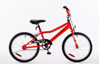 Bicicleta Bmx 20 Futura Oversize Racer Kids Niño