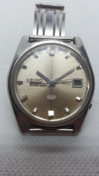 Relógio Seiko 5 Automático 2 Janela - Vintage
