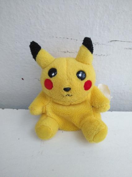 Pikachu Pokemon Monedero De Peluche. Usado. 10cm.
