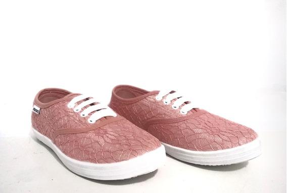 Zapato Mujer Zapatilla De Tela Muy Comodas