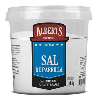 Sal De Parrilla - Sal Entrefino Para Churrasco 1kg