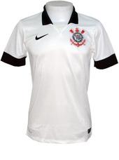 Camisa Juvenil Corinthians Nike 13 14 Branca Original 1f7edcd389c