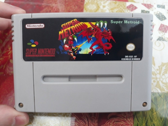 Chrono Trigger + Super Metroid Snes Cartuchos