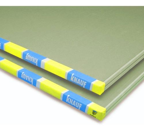 Placa Verde Antihumedad Knauf 12,5mm 1,20x2,40 Igual Durlock