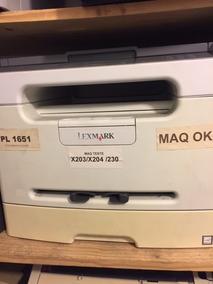 Multifuncional Laxmark X203 ( 01 Vendida) No Estado