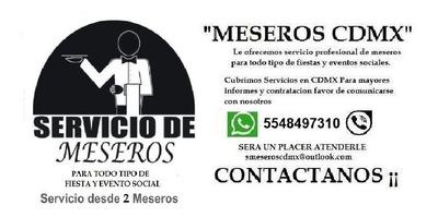 Servicio De Meseros Cdmx