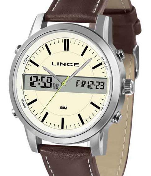 Relógio Lince Masculino Mac4489s B1nb C/ Garantia E Nf