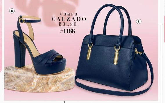 Bolso Azul Marino 854-34 Cklass Primavera+verano 2020