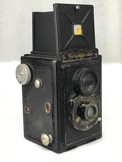 Câmera Voigtlander Brilhante F7.7 6x6 Twin Lens(coleção)