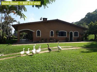 Chácara Para Venda Em Atibaia, Jardim Estância Brasil, 4 Dormitórios, 1 Suíte, 3 Banheiros, 5 Vagas - 0010