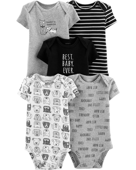 Kit Body 24 Meses Carters Menino Bodies