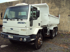 Ford Cargo 26 32 6x4 Branco Ano 2008