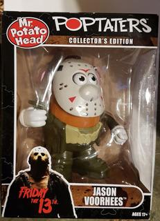 Mr Potato Head Señor Cara De Papa Jason Vorhees Rare Edition