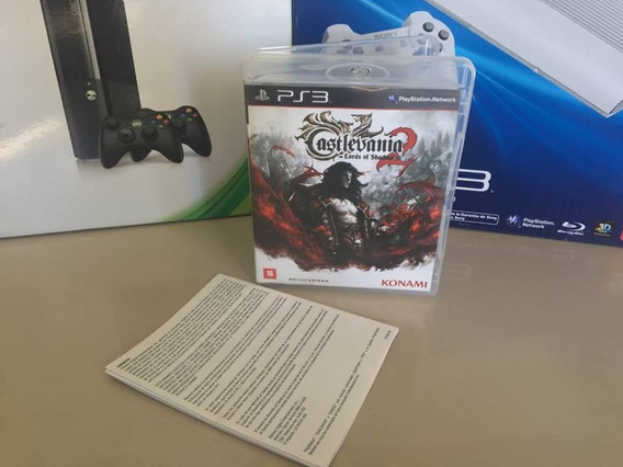 Castlevania Lords Of Shadow 2 Lords Of Shadow Ps3 Semi Novo