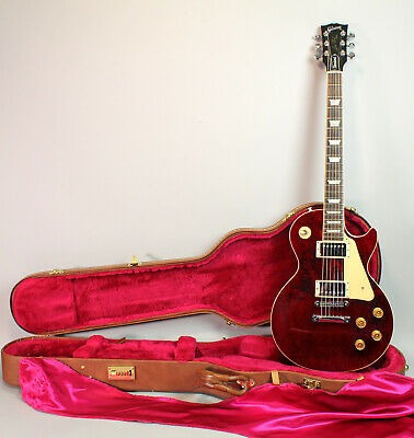 2000 Gibson Les Paul Standard Wine Red All Original Electric