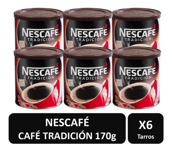 Cafe Nescafe Winner Tradición 170g Pack X6