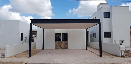 Imagen 1 de 15 de Casa De 1 Planta En Preventa En Privada Manere En Conkal