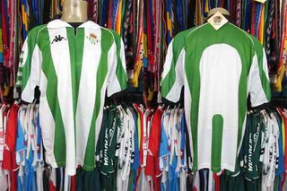 Betis 1998 Camisa Titular Tamanho G.