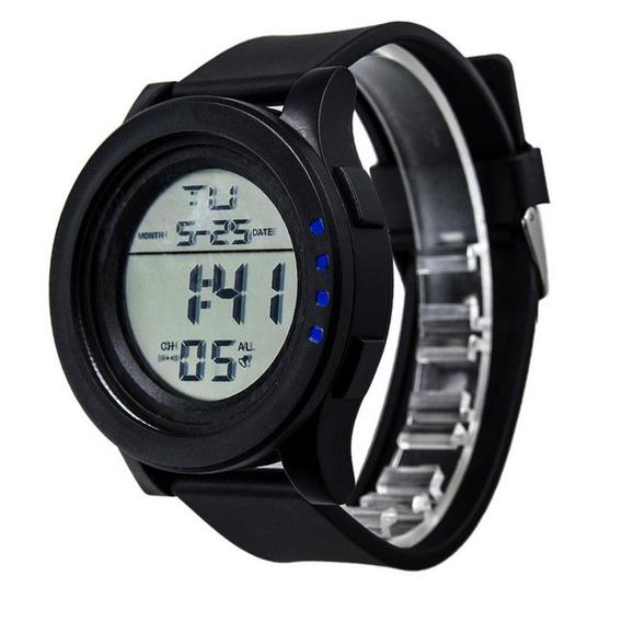 Relógio Pulso Data Dia Da Tela Tocar Digital Led Relógio De