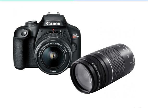 Câmera Digital Canon Semiprofissional - Eos Rebel T100