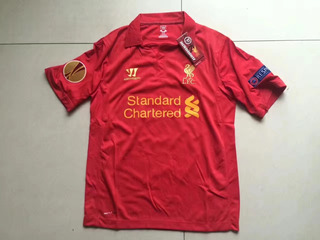 Camisa Liverpool Europa League 2012-13 Gerrard 8