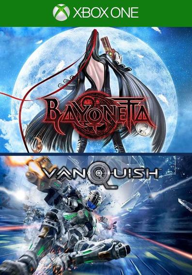 Bayonetta + Vanquisch Xbox One Midia Digital +2 Brinde