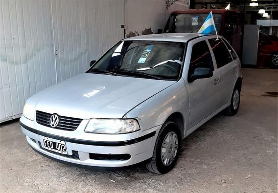 Volkswagen Gol 5 Puertas 1.6 Aa Y Dirección Asistida