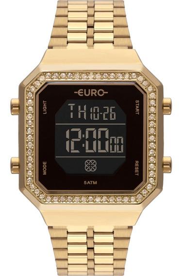 Relógio Feminino Euro Original Com Garantia E Nota Fiscal