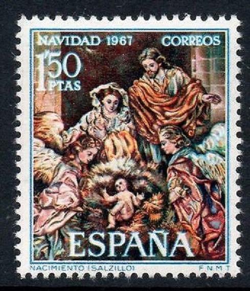1967 Religión- Navidad - España Mnh