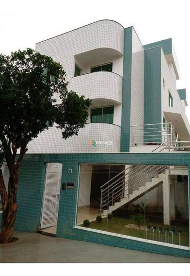 Apartamento Garden Com 3 Dormitórios À Venda, 60 M² Por R$ 385.000 - Santa Mônica - Belo Horizonte/mg - Gd0036