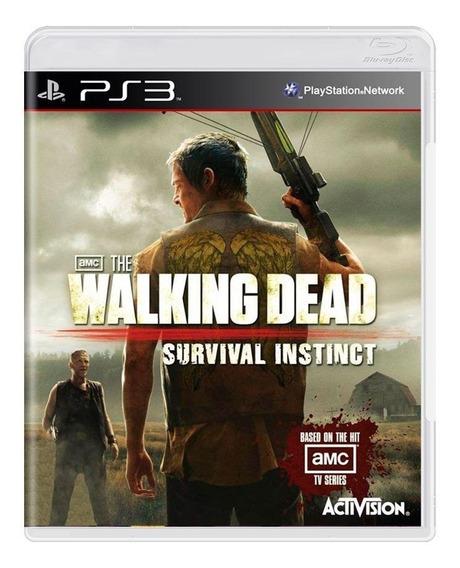 The Walking Dead Survival Instinct Ps3 Mídia Física