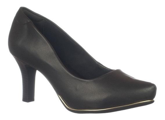 Sapato Comfortflex Preto