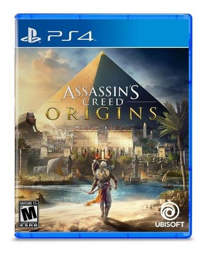 Assassin's Creed: Origins Standard Edition Físico PS4 Ubisoft