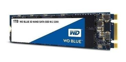 Ssd Wd Blue 1tb M.2 2280 Wds100t1b0b