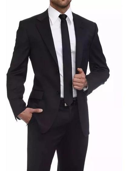 Blazer Veludo Cotele Slim Masculino Preto + Capa De Brinde